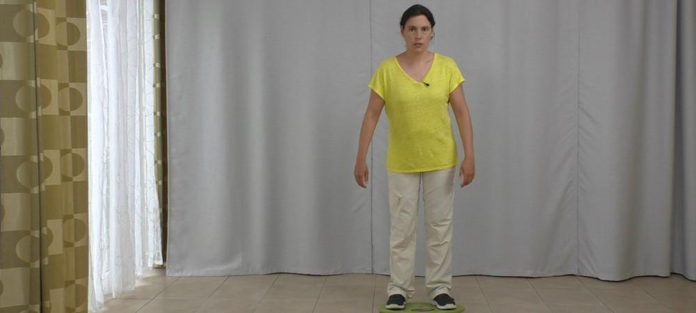 Parkinson und Gleichgewichtsstörung testen