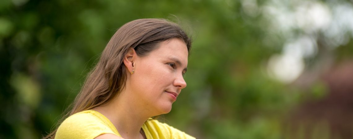 Foto Silke van Beuningen von Fit trotz Parkinson