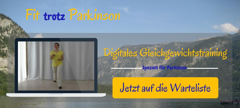 Digitales Gleichgewichtstraining für Parkinson-Erkrankte