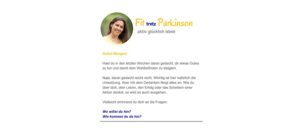 Parkinson Fit-Letter
