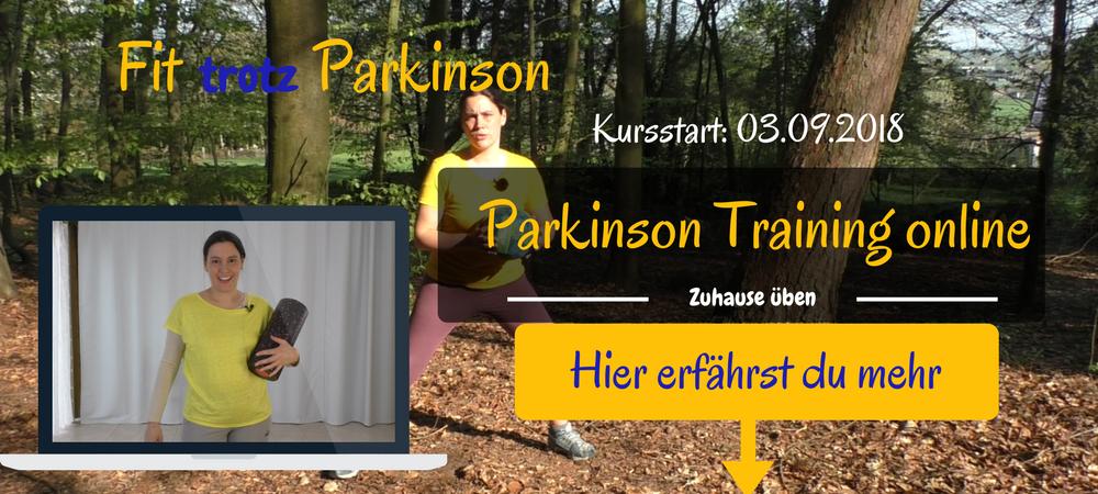 Parkinson Übungen zu Hause machen