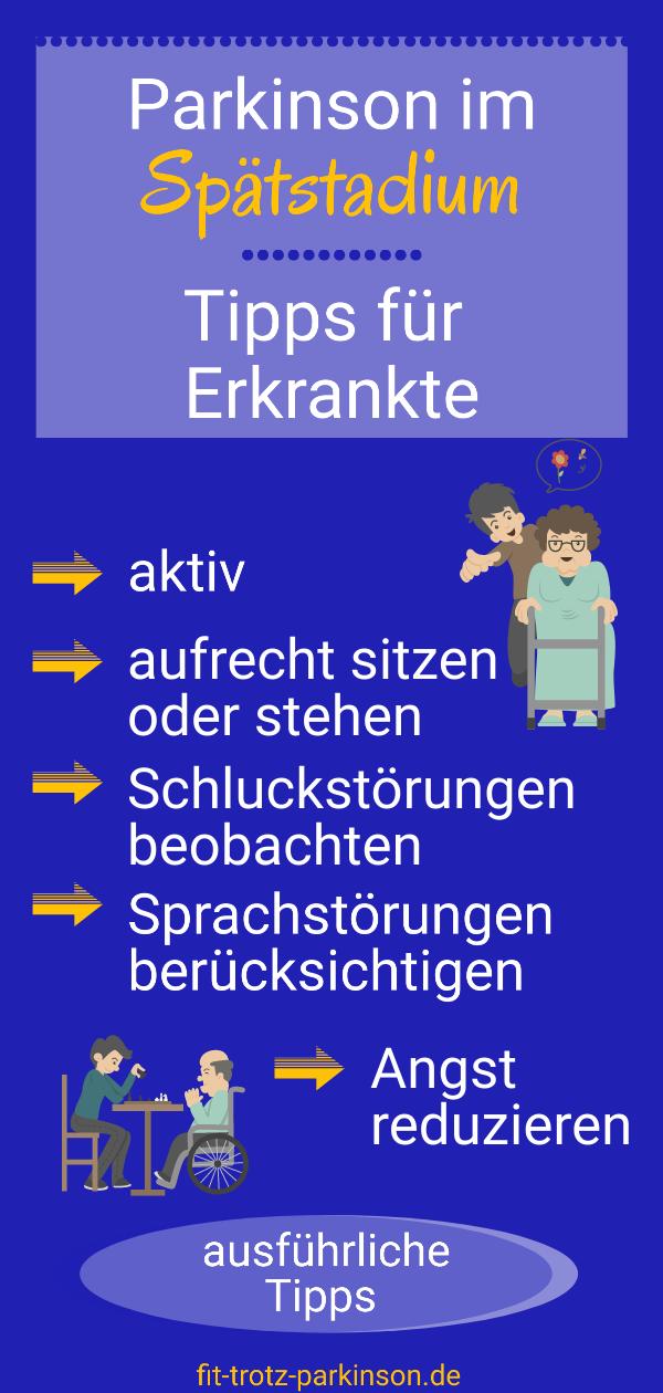 Parkinson Spätstadium