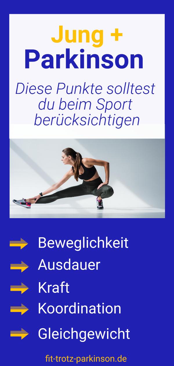 Jung und Parkinson Sport